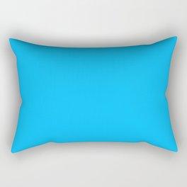 All turquoise Rectangular Pillow