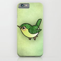 Cute Green Bird iPhone 6s Slim Case