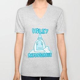 Holey Mayonnaise Unisex V-Neck