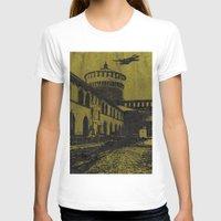milan T-shirts featuring Milan 5 by Anand Brai
