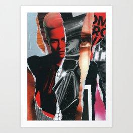 Internal Dialogue Art Print