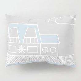 Lagoon House Pillow Sham