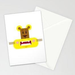 Cute Cartoon Lioness Stationery Cards