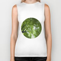 jewish Biker Tanks featuring Leaves and Lace by Brown Eyed Lady