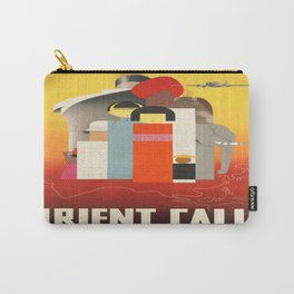 Vintage poster - Oriental Tourist Conference Carry-All Pouch