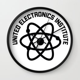 United Electronics Institute Wall Clock