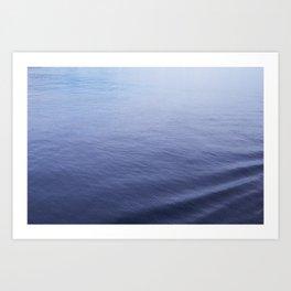 Still Sea Water Minimalist Poster Art Print