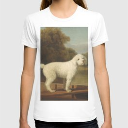 George Stubbs - White Poodle in a Punt T-shirt