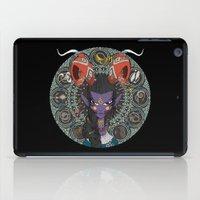 zodiac iPad Cases featuring Zodiac : Capricorn by Det Tidkun
