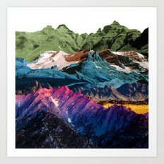 Dream Nature MOUNTAINS Art Print