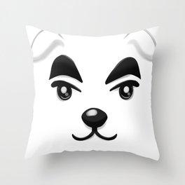 Animal Crossing KK Slider Throw Pillow