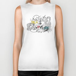 let's TACO bout LOVE baby Biker Tank