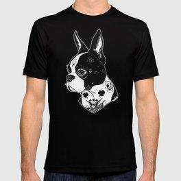 Dog - Tattooed BostonTerrier T-shirt