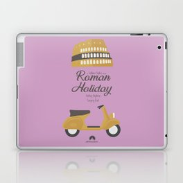 Roman Holiday, Audrey Hepburn,movie poster, Gregory Peck, William Wyler, romantic hollywood film Laptop & iPad Skin
