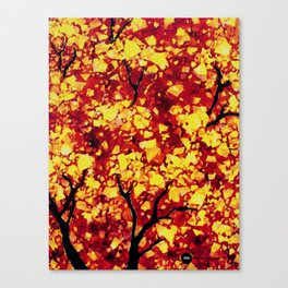 Fall 1 of 2 Canvas Print