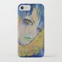 indigo iPhone & iPod Cases featuring Indigo by Michael Creese