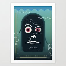 What is this?! Art Print