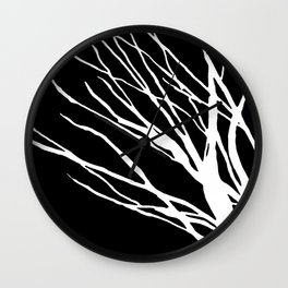 Black and White Cookie Blues Wall Clock