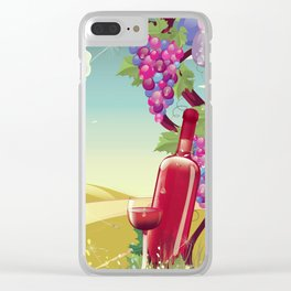 Vineyard Clear iPhone Case