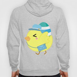 Courier Chicken Hoody