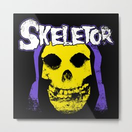 Skeletorfits 2.0 Metal Print