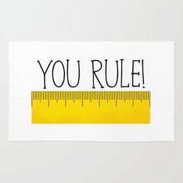 You Rule! Rug