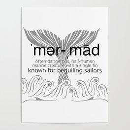Mermaid Defined Poster