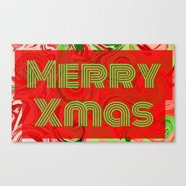 Merry Xmas 1 Canvas Print