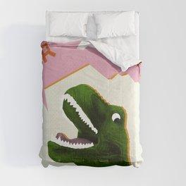 Dinosaur Raw! Comforters