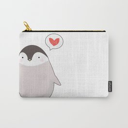 Penguin for Kristina Carry-All Pouch