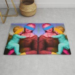 Raphael Classical Painting Remix Pop Art Rug