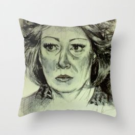 BETTY LOREN-MALTESE Throw Pillow