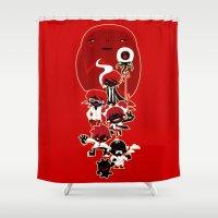 manga Shower Curtains featuring Manga family! by LuisD