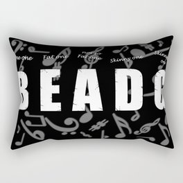 Bass Player Rectangular Pillow