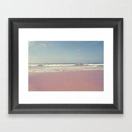 Sea waves 2 Framed Art Print