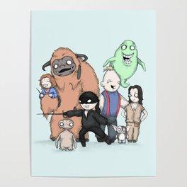 Retro Childhood Poster