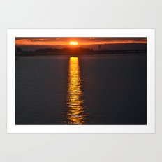 Path to Sunshine Art Print