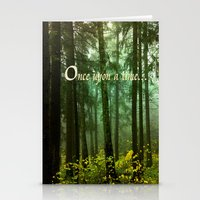 once upon a  time Stationery Cards featuring Once upon a time... by Armine Nersisian