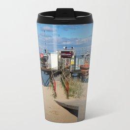 River Wyre Launching Facility - Fleetwood - England Travel Mug