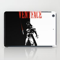 scarface iPad Cases featuring Ventface by Diego Farias