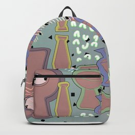 Ceramic Objects, Neon Blips Backpack
