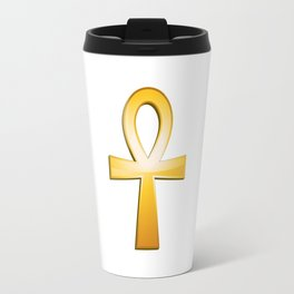 Ankh - egyptian symbol Travel Mug