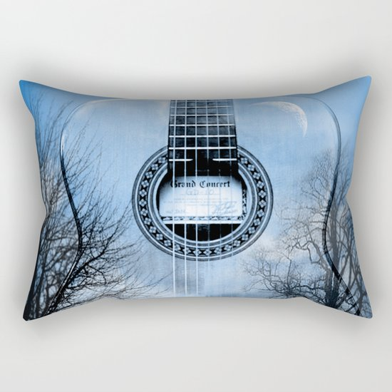 music blue  Rectangular Pillow