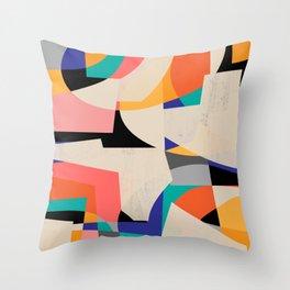 ColorShot III Throw Pillow