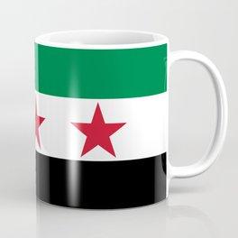 Independence flag of Syria Coffee Mug