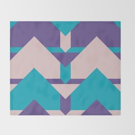 Glow Way #society6 #glow #pattern Throw Blanket