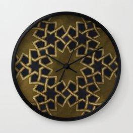 Ornaments of Islamic Arts Wall Clock