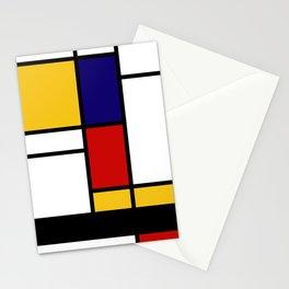Prints, Mid Century Modern Wall Art, Large Abstract Geometric Wall Art, Mondrian Style Art, Minimali Stationery Cards