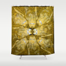 Living On The Wild Side Shower Curtain