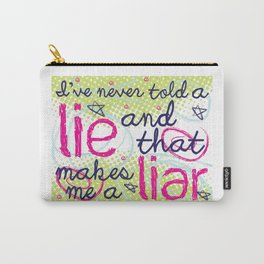 Everyone Lies Carry-All Pouch